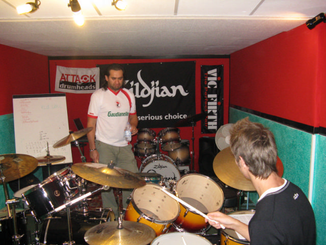 mr sergio bellotti advanced groove course @gm drum school