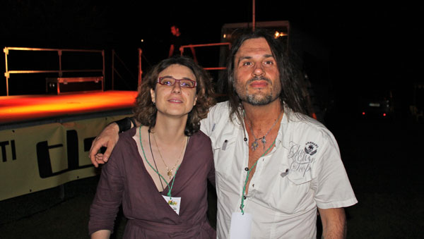 Sara Malandrone e Gigi Morello al Music School Village di Villadeati (AL)