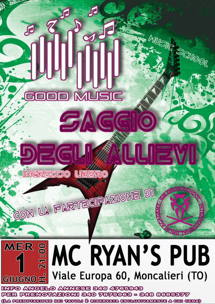 saggio-good-music-verde