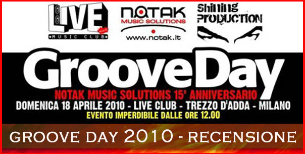 recensione groove day 2010