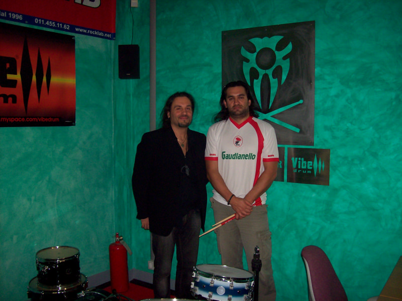 mr sergio bellotti @ gm drum school