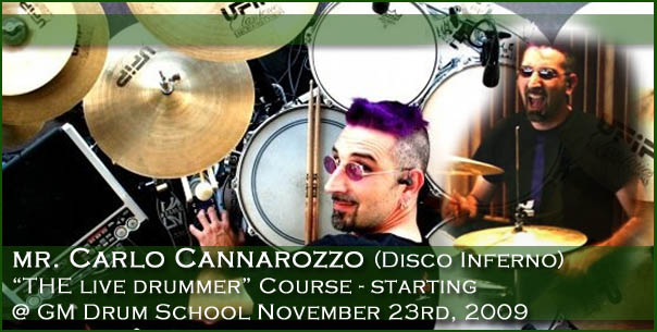 mr-carlo-cannarozzo-pro-funk-disco-style-course-and-presentation-of-course-the-live-drummer