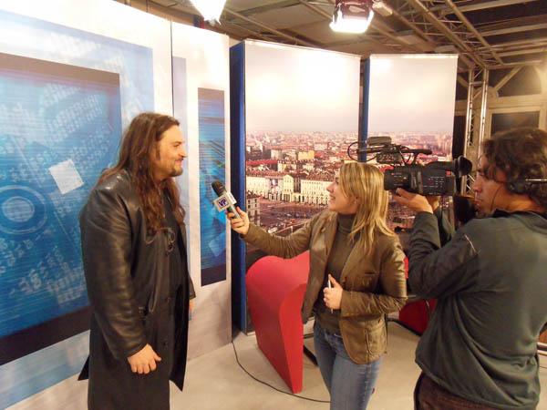 Gigi Morello e Franco Stella della Drum School Intervistati da VideoGruppo.