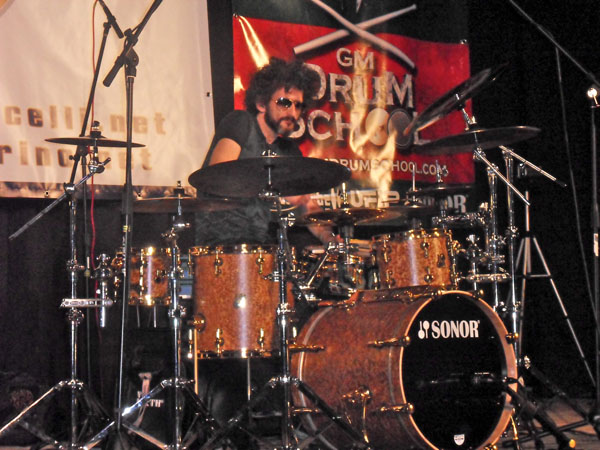 Mr Jojo Mayer @ GM Drum School