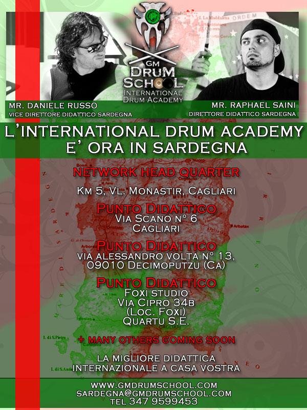 locandina-presentazione-gm-drum-school-sardegna